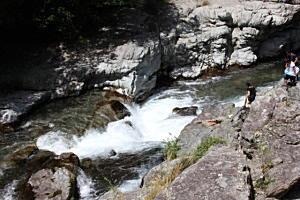 川での水難事故