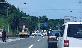 お正月の交通事故