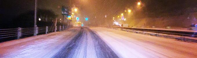 路面の凍結