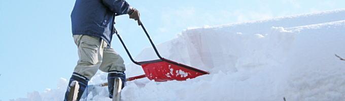 除雪時の事故