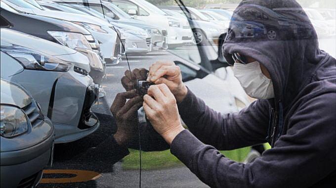 自動車の盗難