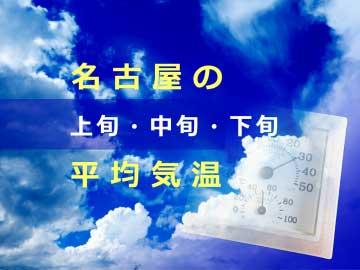 名古屋市の平均気温