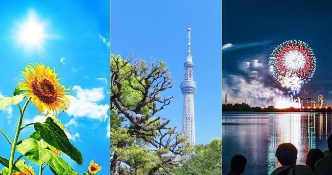 関東・甲信の夏の気温
